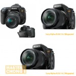 Sony Alpha DSLR-A300 and DSLR-A350 Photos